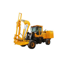 hydraulic load-type guardrail press pile driver